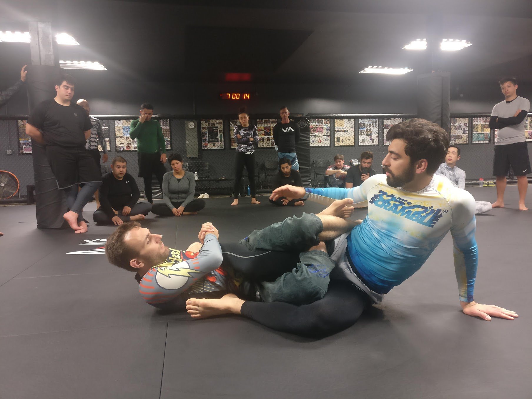 BJJ Morning Class by Patrick Donabedian (10th Planet HQ)